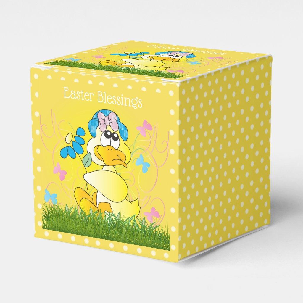 Easter Blessings Favor Box