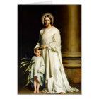 Easter Blessings Fine Art Customizable Easter Card