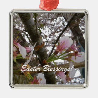 Easter Blessings Metal Ornament