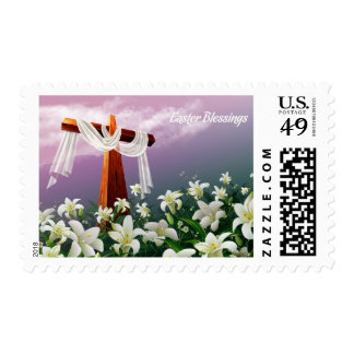 Easter Blessings Postage Stamps