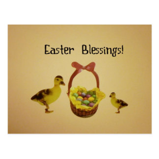 Easter Blessings! Postcard