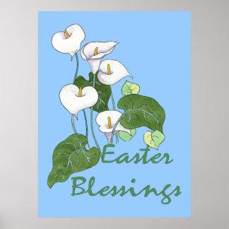 Easter Blessings Poster