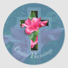 Easter Blessings Tropical Hibiscus Stickers