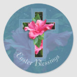 Easter Blessings Tropical Stickers