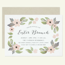 Easter Blossoms Brunch Invitation