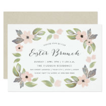 Easter Blossoms Brunch Invitation