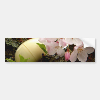 Easter Blossoms Car Bumper Sticker