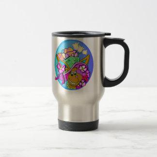 Easter Bonnet 15 Oz Stainless Steel Travel Mug