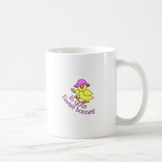 Easter Bonnet Classic White Coffee Mug