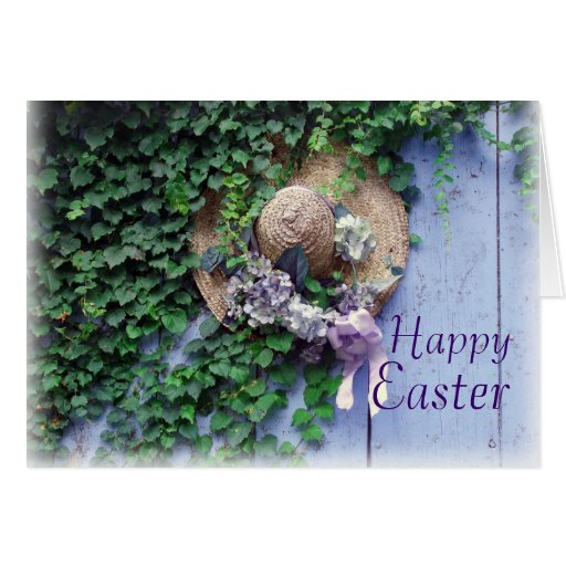 Easter Bonnet Greeting Cards
