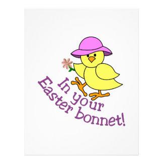 Easter Bonnet Letterhead