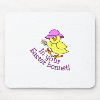 Easter Bonnet Mouse Pad