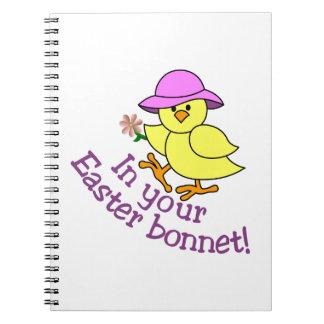 Easter Bonnet Notebook