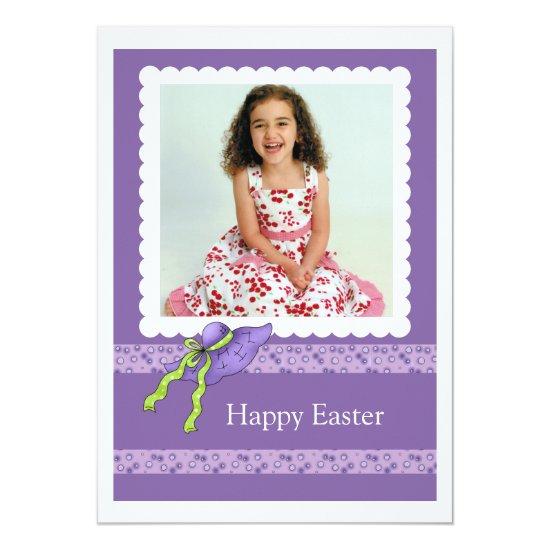 Easter Bonnet Photo Card