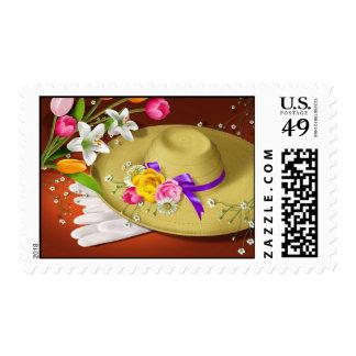 Easter Bonnet Stamp