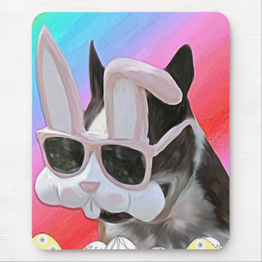 Easter Boston 2 Mouse Pad