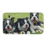 Easter Boston Terriers Galaxy S5 Covers