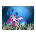 Easter Bowling Greeting Cards