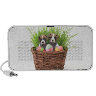 Easter boxer puppies mp3 speakers