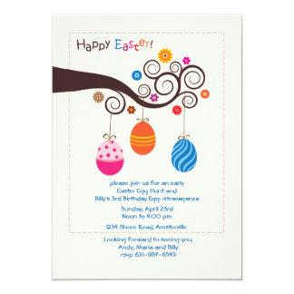 Easter Branch Photo Invitation