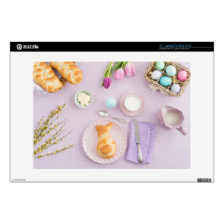 Easter breakfast decals for laptops