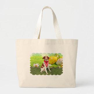 Easter - Brittany Spaniel - Elliott Bag