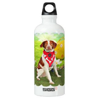 Easter - Brittany Spaniel - Elliott SIGG Traveler 0.6L Water Bottle