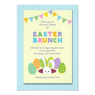 Easter Brunch Bunny Invitation