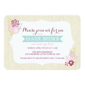 Easter Brunch Custom Announcement Cards