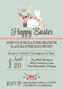 Sunday Brunch Invitations