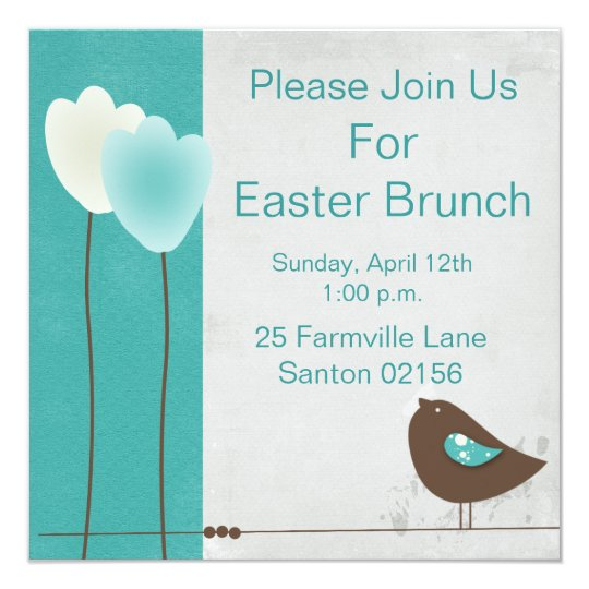 Easter Brunch Invite