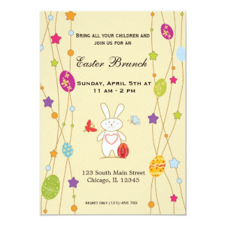 Easter Brunch Personalized Invitations