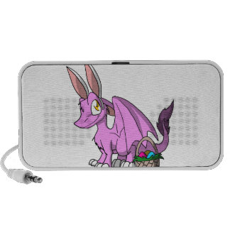 Easter Bubblegum/Pink SD Furry Dragon Travel Speakers