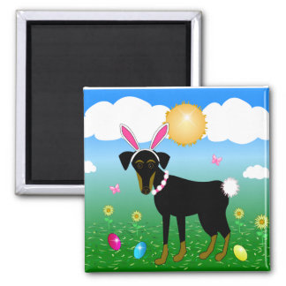 Easter Buddy 2 Inch Square Magnet
