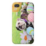 Easter - Bulldog - Delilah iPhone 4 Case