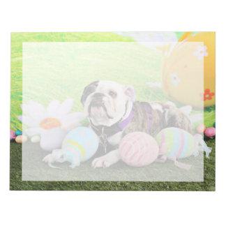 Easter - Bulldog - Delilah Memo Note Pad