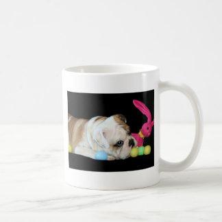 Easter Bulldog mug