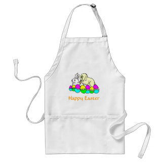 Easter Bunnies Adult Apron