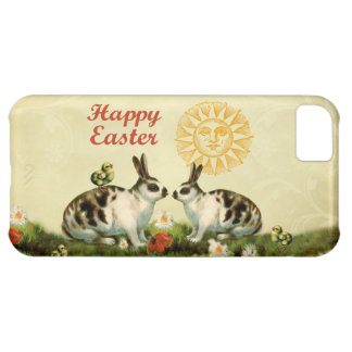 Easter Bunnies and Baby Chicks iPhone 5C Covers