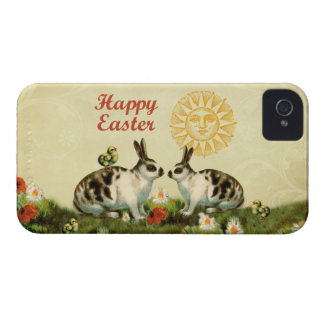 Easter Bunnies and Baby Chicks Case-Mate iPhone 4 Cases