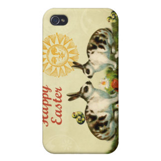 Easter Bunnies and Baby Chicks iPhone 4 Covers