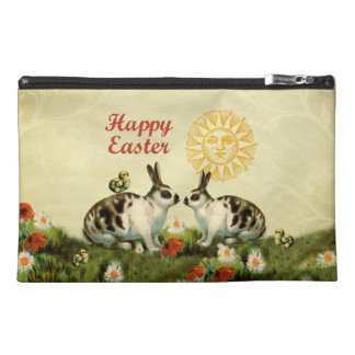 Easter Bunnies and Baby Chicks Travel Accessory Bag