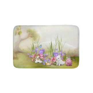 Easter Bunnies Bath Mats