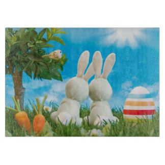 Easter Bunnies Cutting Board