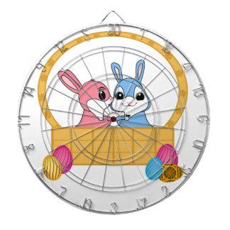 Easter Bunnies Dart Board