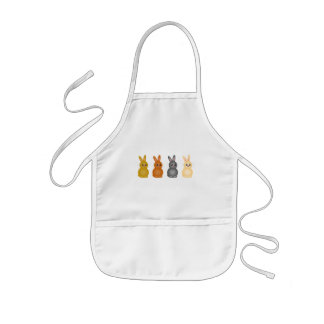 Easter Bunnies Kids' Apron