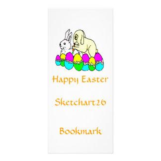Easter Bunnies Rack Card
