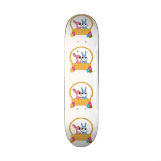 Easter Bunnies Skate Deck