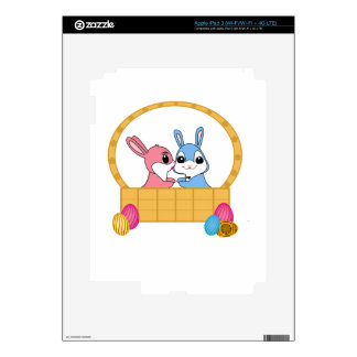 Easter Bunnies Skins For iPad 3