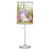 Easter Bunnies Table Lamp